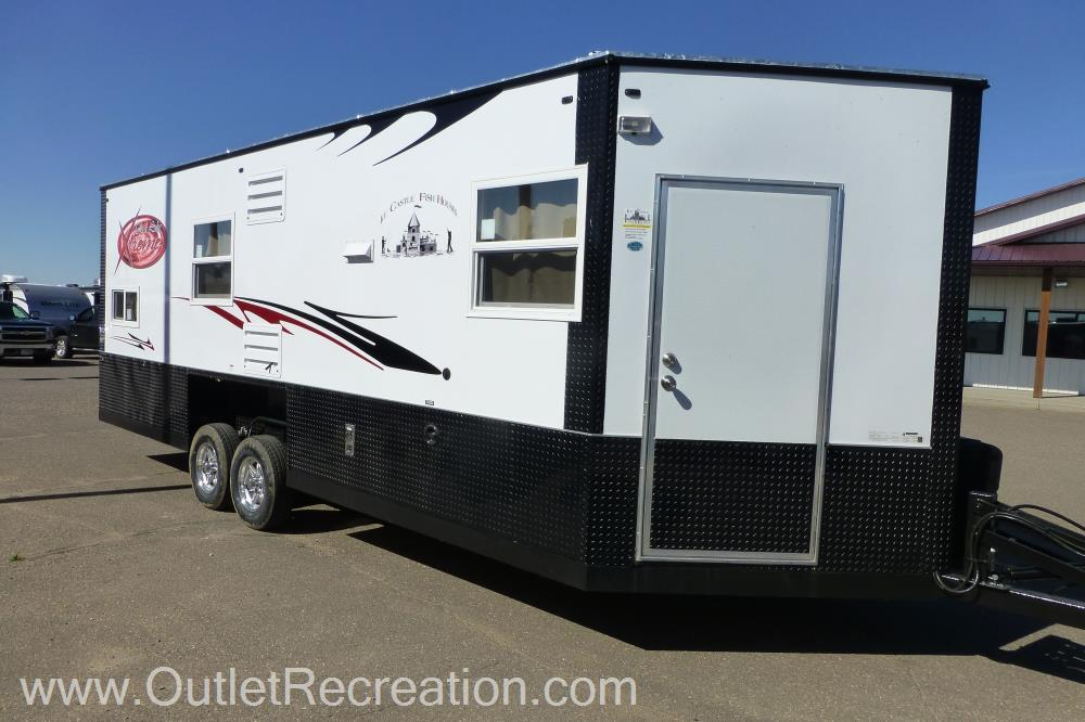 Red fish rvs for sale for Toy hauler fish house