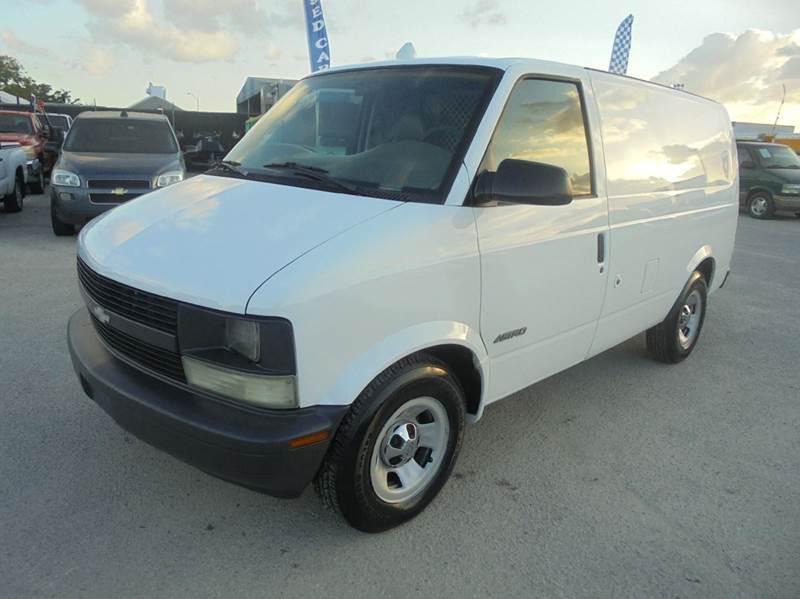 1998 Chevrolet Astro Cargo Van Cars For Sale
