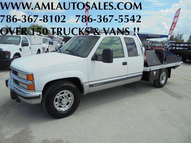 1996 Chevrolet C/K 2500 Series  Flatbed Truck