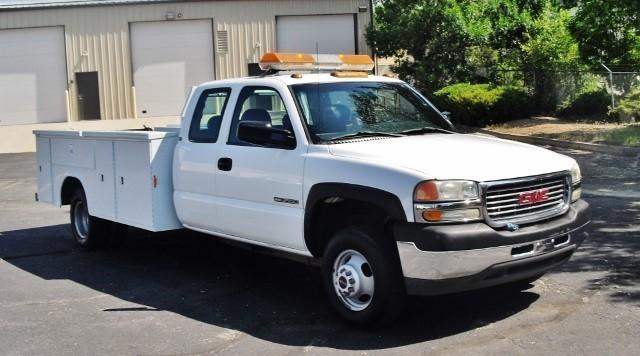 2001 Gmc Sierra 3500  Utility Truck - Service Truck