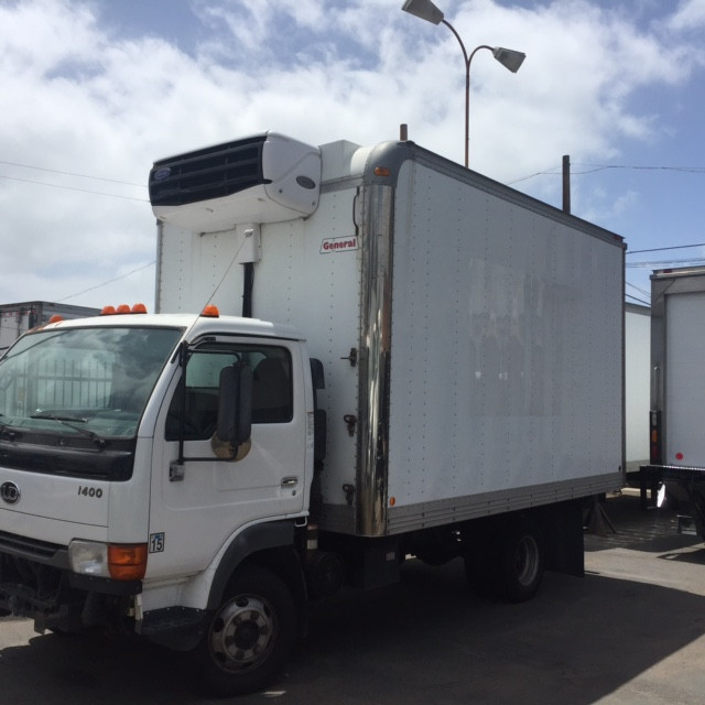 2007 Nissan Ud 1400 Refrigerated Truck