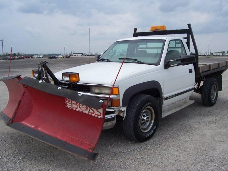 2000 Chevrolet C/K 3500 Series  Contractor Truck