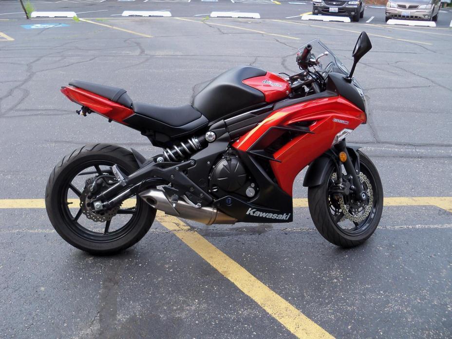 Kawasaki ninja 650 abs motorcycles for sale in joliet for Honda dealer joliet