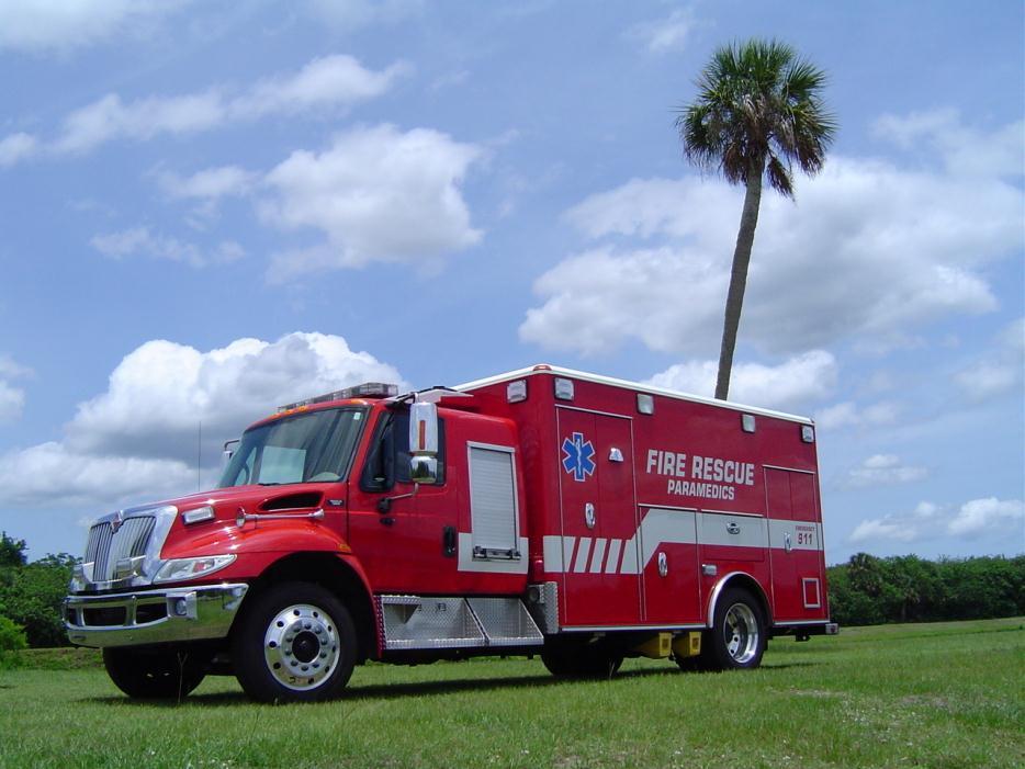 2011 International 4300 Ambulance