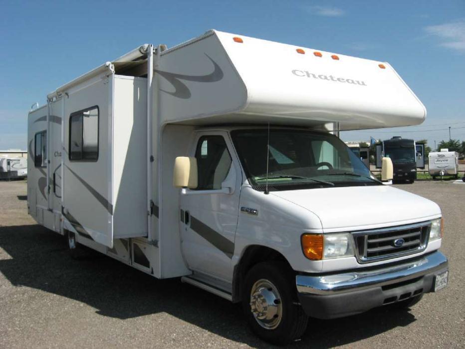 Thor motor coach chateau 3iv ford e450 rvs for sale for Motor coach rv for sale