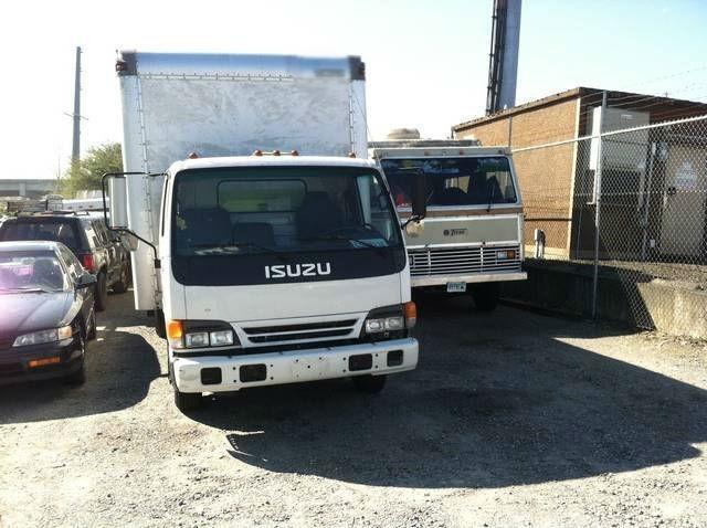 1998 Isuzu Npr  Moving Van