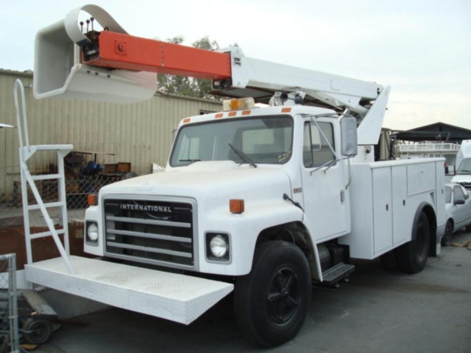 1985 International 1654  Bucket Truck - Boom Truck