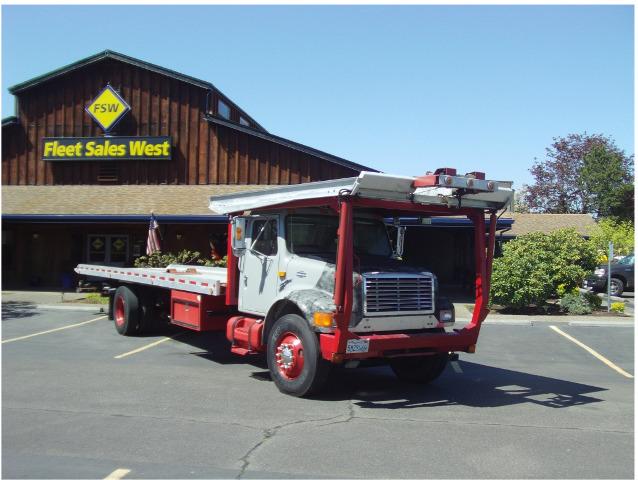 1997 International 4900 Car Carrier