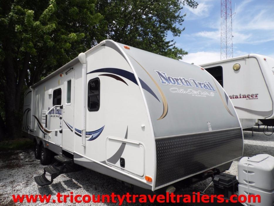 2014 Heartland North Trail 32buds Rvs For Sale