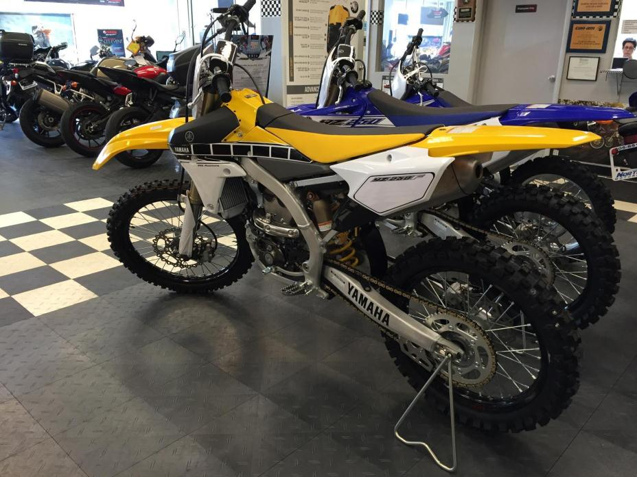 2016 Yamaha YZ 450F - 60th Anniversary Yellow