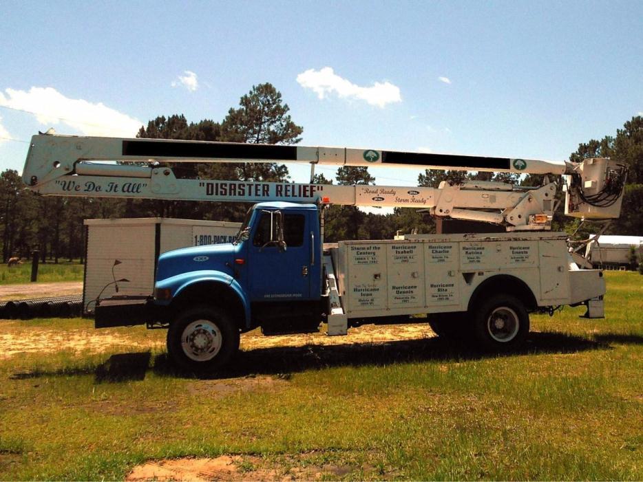 1991 International 4800  Bucket Truck - Boom Truck