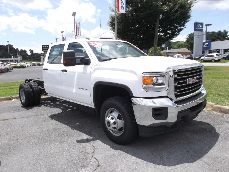 2016 Gmc Sierra 3500  Cab Chassis