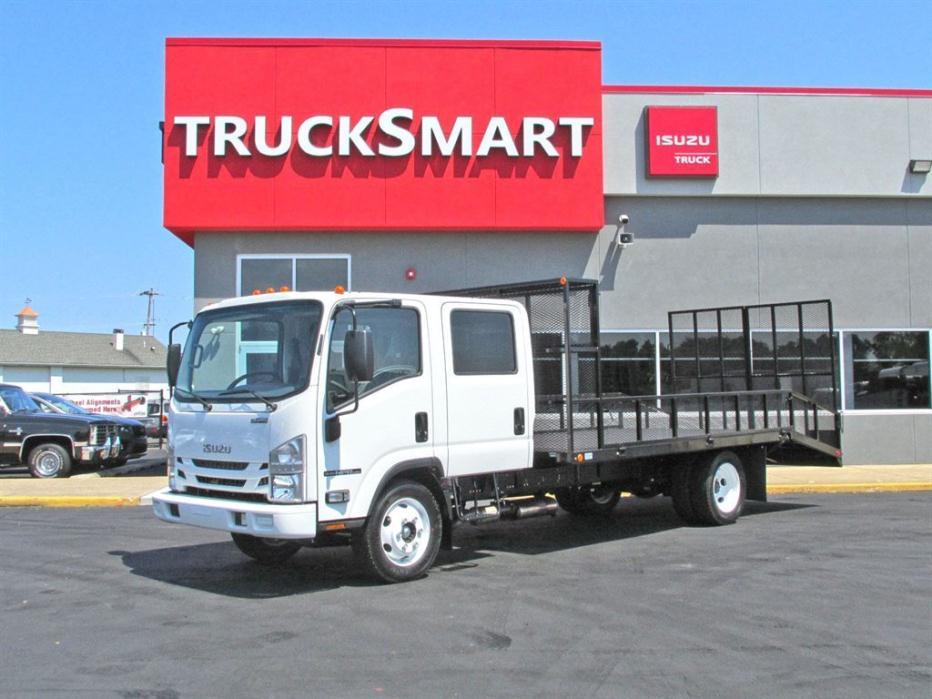 2016 Isuzu Npr-Hd Landscape Truck