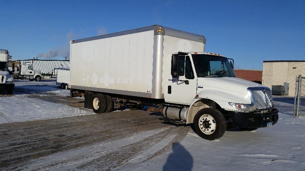 2010 International Durastar 4300  Box Truck - Straight Truck