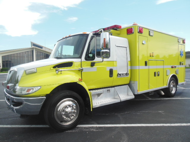 2008 International Dt466 Fire Truck