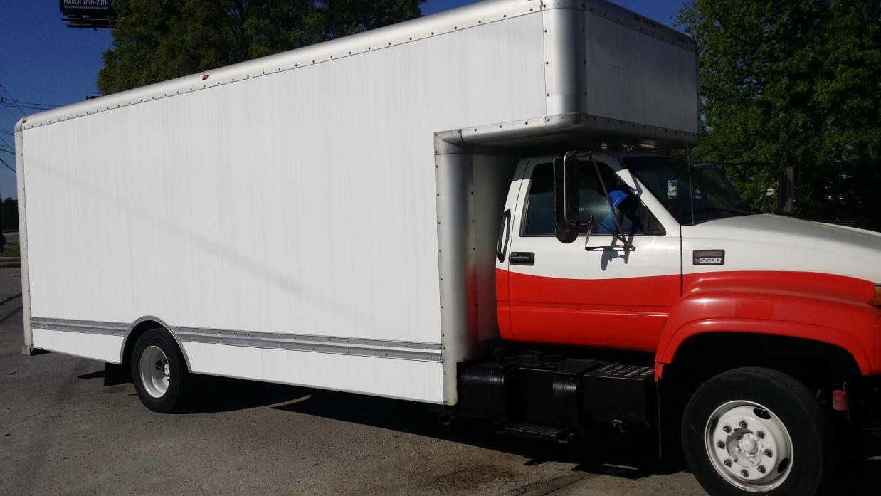 2000 Gmc C6000 Box Truck - Straight Truck