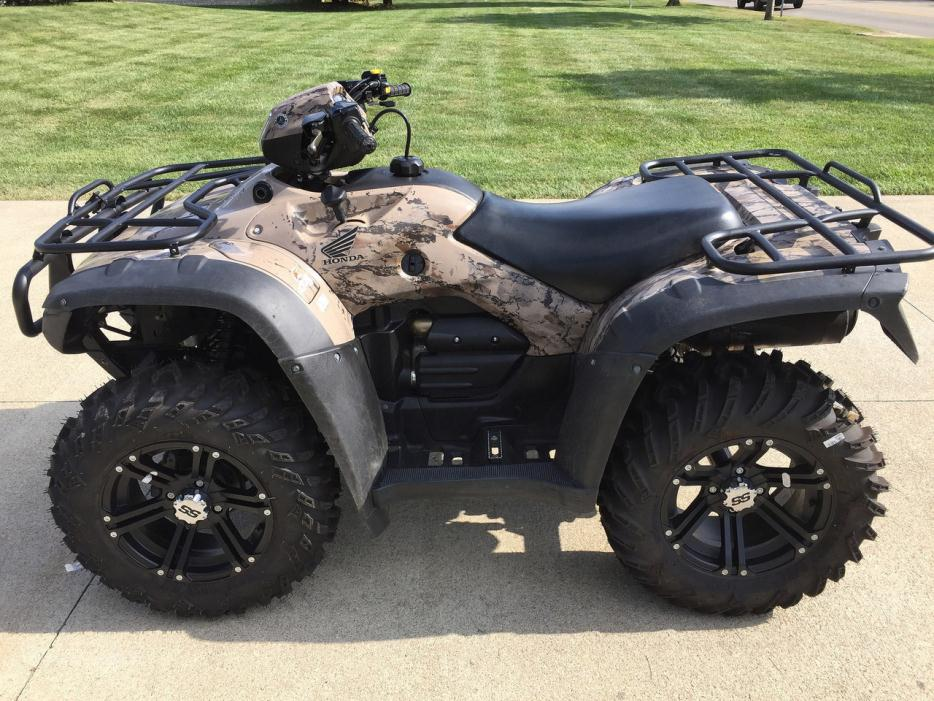 Honda Fourtrax Foreman Rubicon Camo Motorcycles For Sale