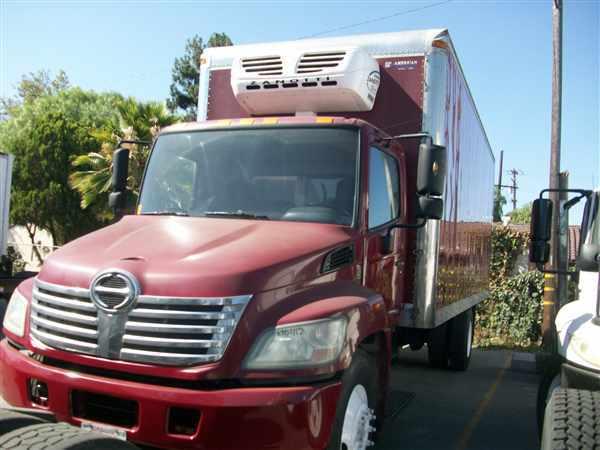 2010 Hino Hino 338 Refrigerated Truck