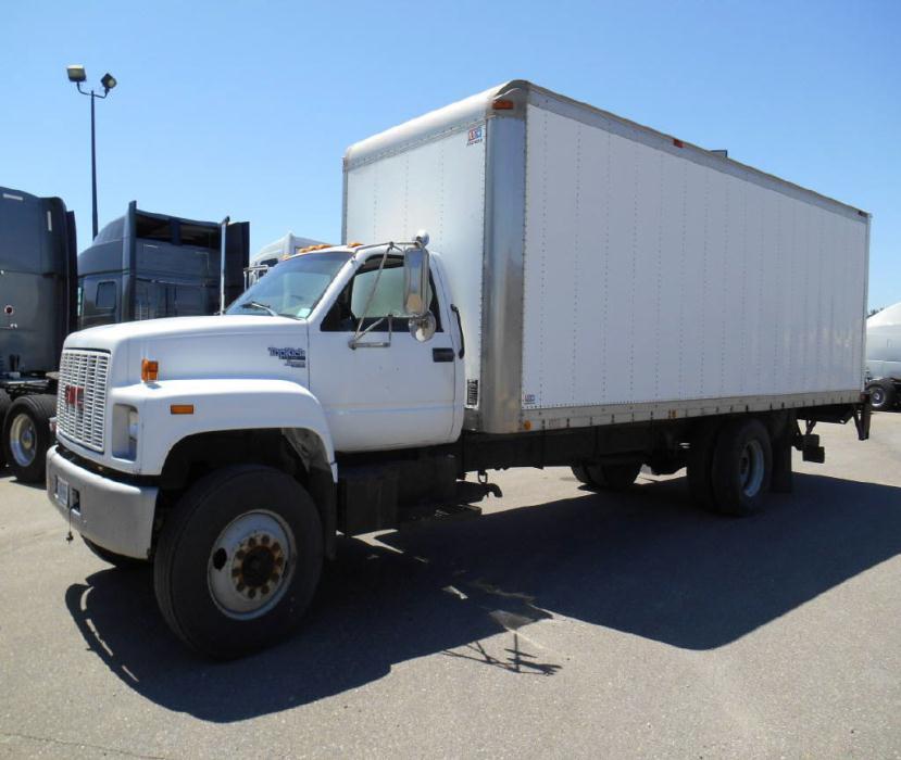 1993 Gmc Top Kick  Box Truck - Straight Truck
