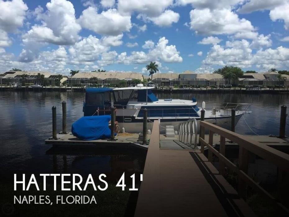1968 Hatteras 41 Double Cabin Motor Yacht