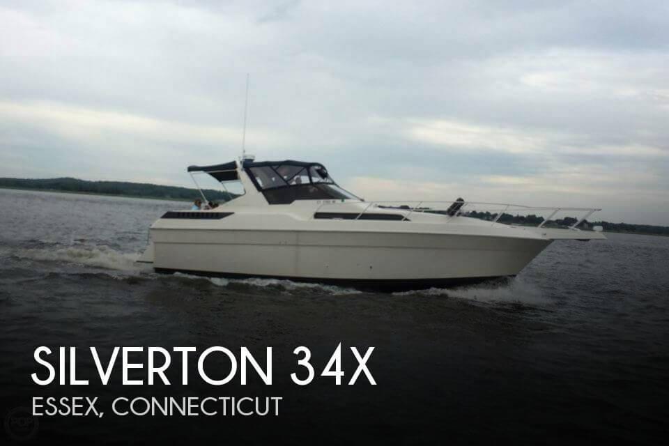 1988 Silverton 34X