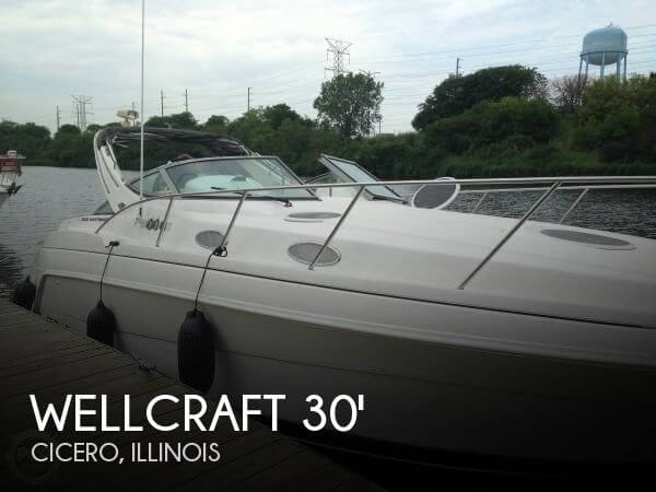1998 Wellcraft 3000 Martinque