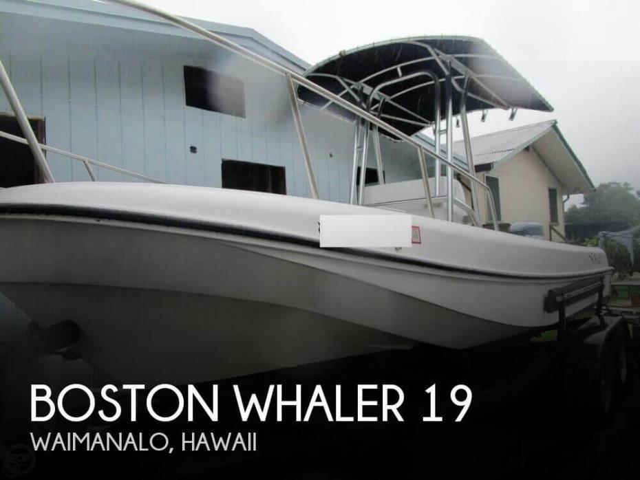 1972 Boston Whaler 19