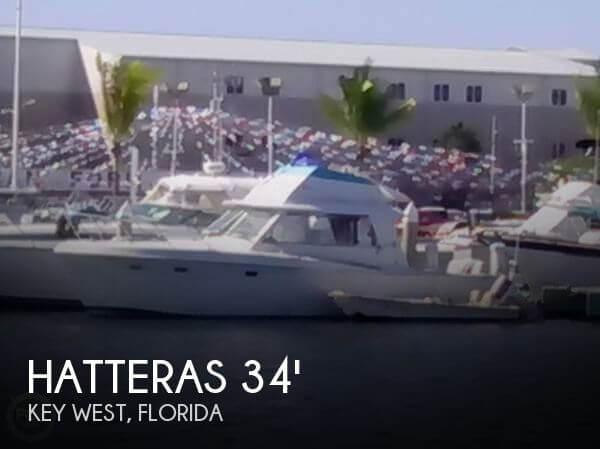 1966 Hatteras 34 Convertible