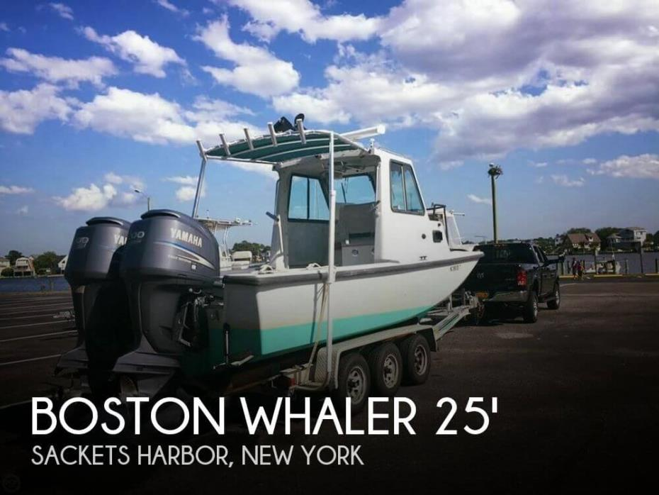 2002 Boston Whaler 25 Challenger