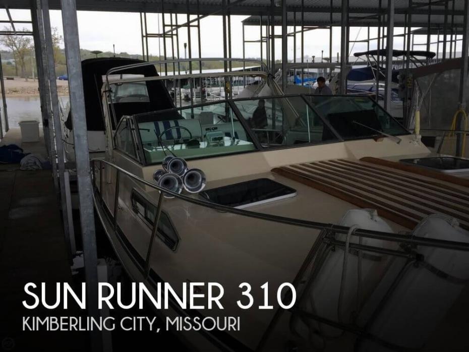 1984 Sun Runner 310