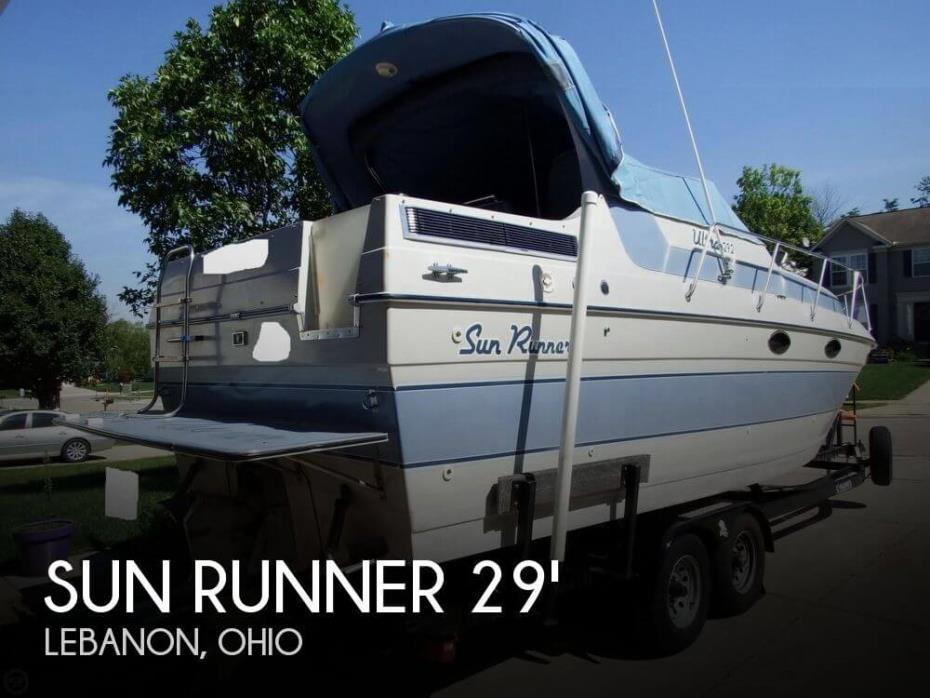 1989 Sun Runner Ultra 292