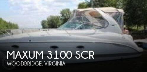 2002 Maxum 3100 SCR