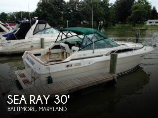 1987 Sea Ray Weekender 300