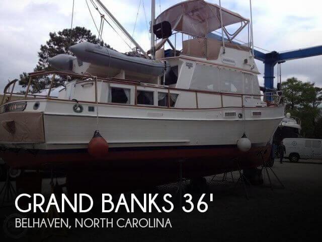 1977 Grand Banks 36 Classic