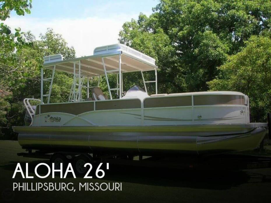 2017 Aloha 260 TT (Tri-Toon) SD (Sun Deck)