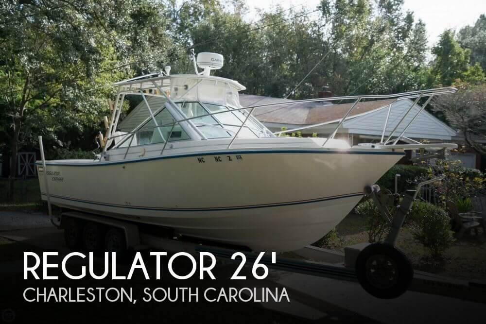 1996 Regulator Marine Express 26