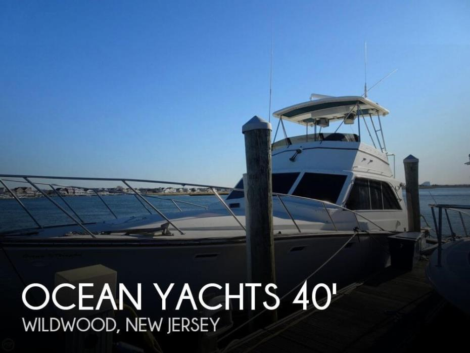 1979 Ocean Yachts 40 Super Sport