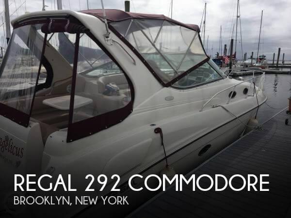 1996 Regal 292 Commodore