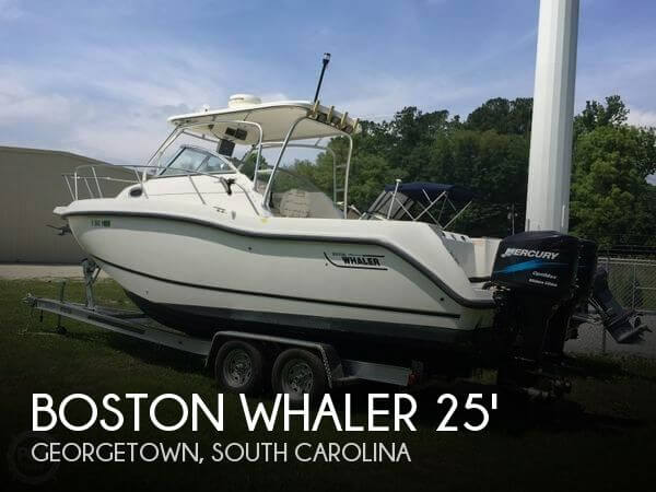 2003 Boston Whaler Conquest 255