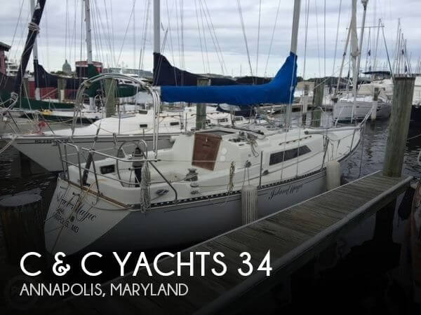 1983 C & C Yachts 34