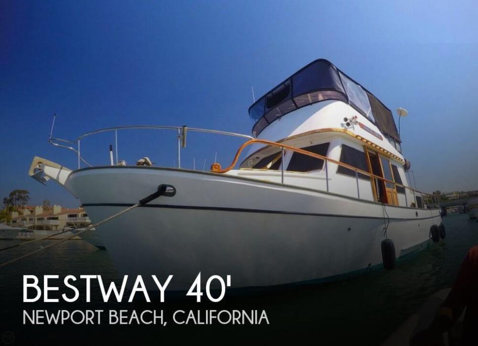 1982 Bestway 40 Double Cabin