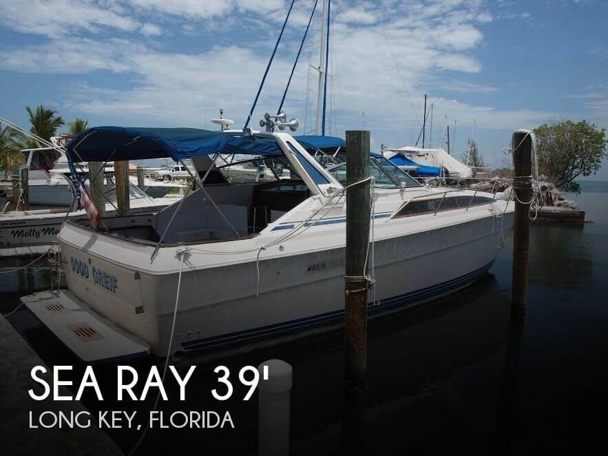 1983 Sea Ray 39 Express Crusier