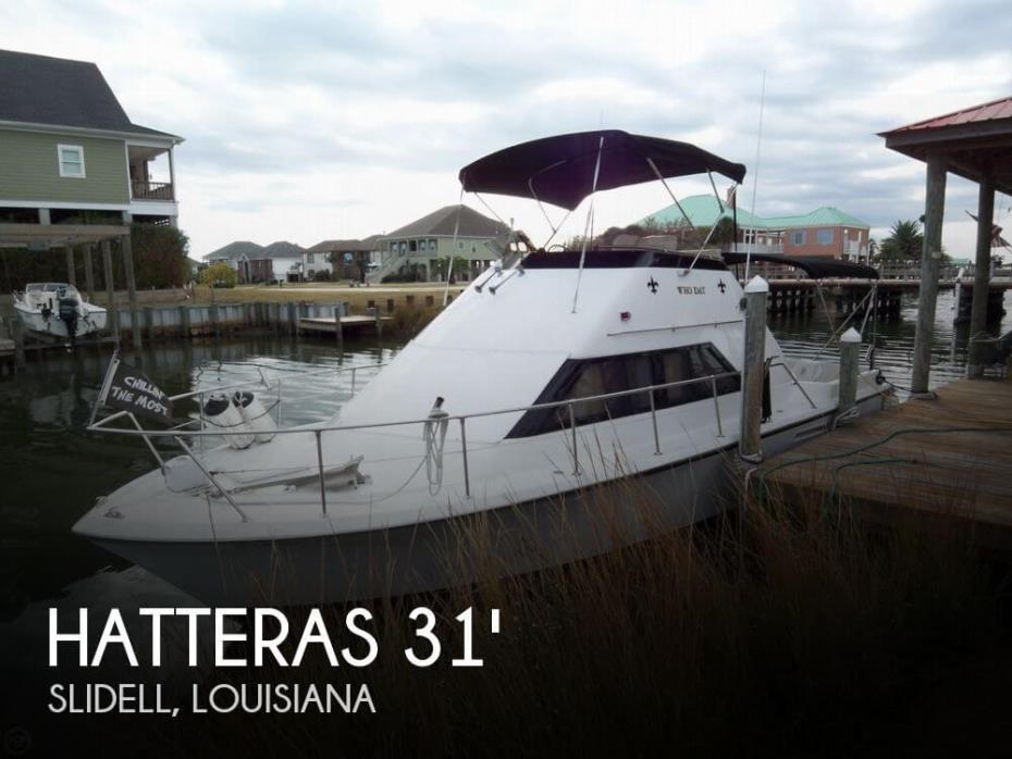 1975 Hatteras 31 Sportfish Flybridge