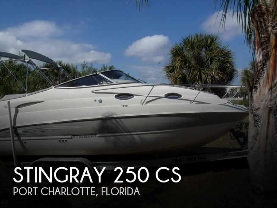 2007 Stingray 250 CS