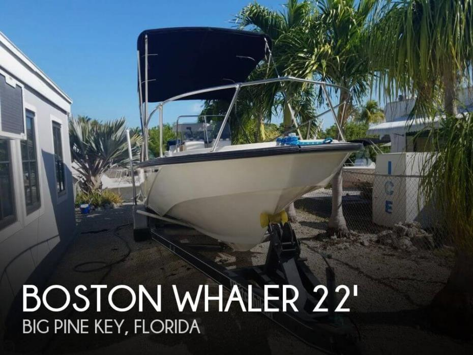 1987 Boston Whaler Outrage 22