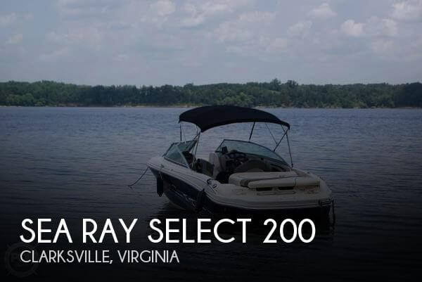 2005 Sea Ray Select 200