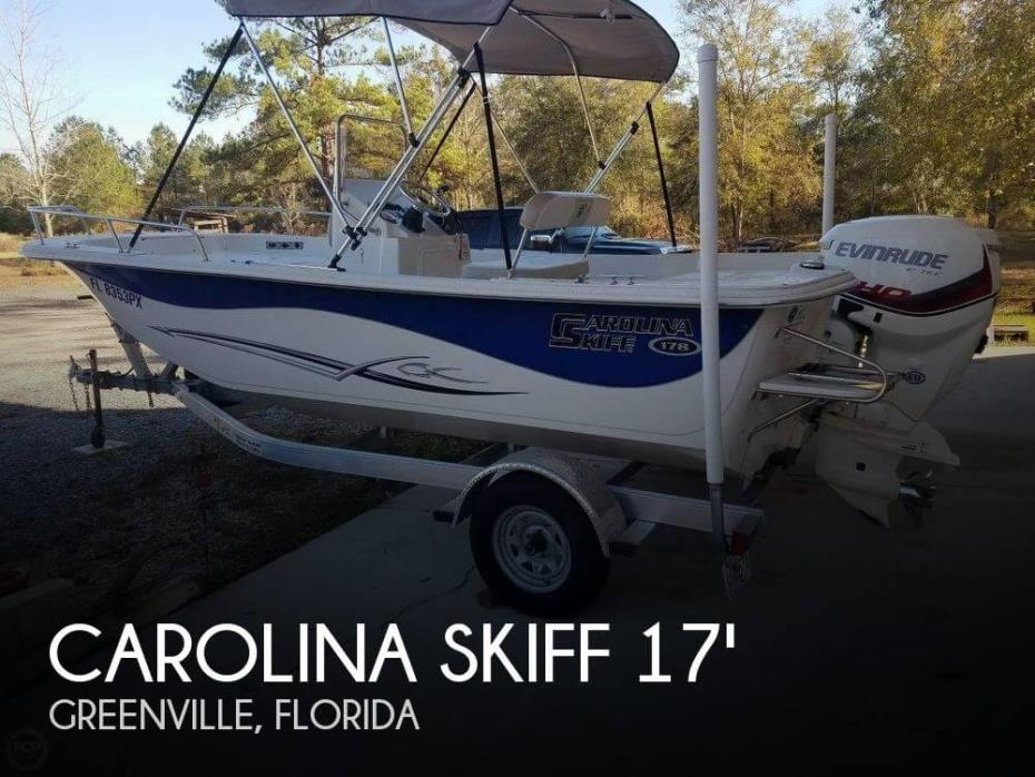 2015 Carolina Skiff 178 DLV