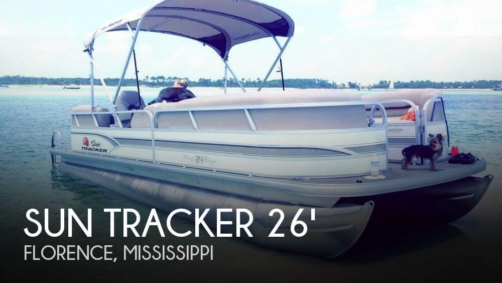 2015 Sun Tracker Party Barge 24 DLX Signature