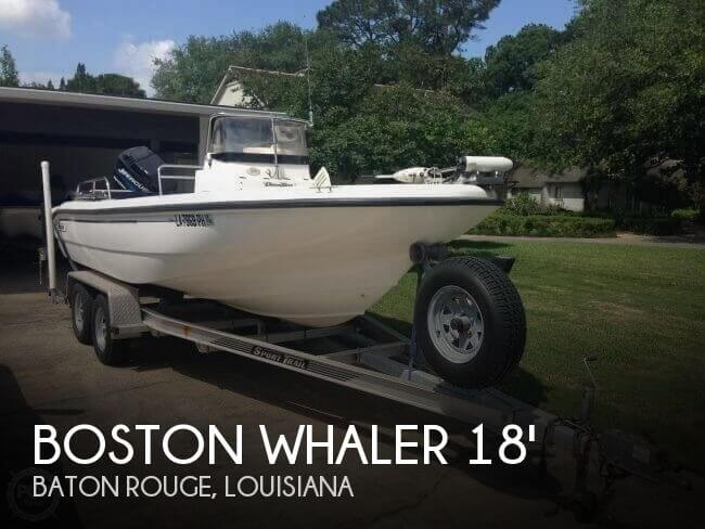 2001 Boston Whaler Dauntless 18