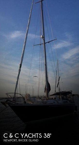 1976 C & C Yachts 38 MKII